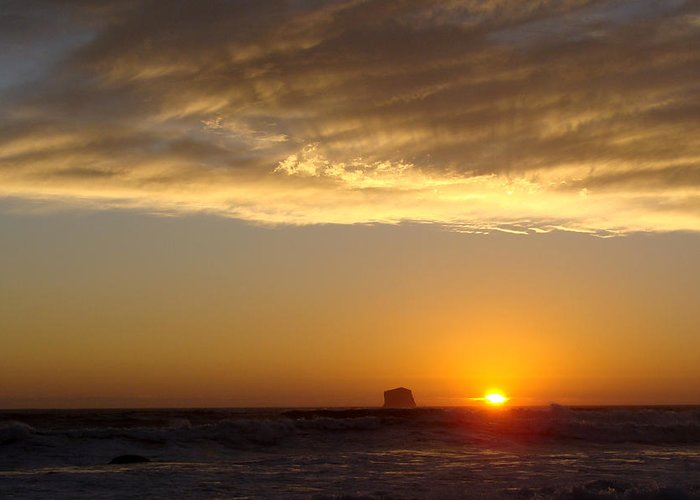 Sunset Greeting Card featuring the photograph Heavenly Rays by Ty Nichols