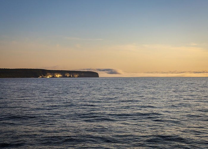 Lake Greeting Card featuring the photograph Heavy Fogbank by Jack R Perry