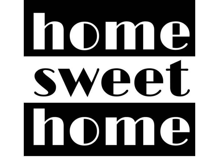 Home Sweet Home Greeting Card featuring the digital art Heme Sweet Home by Magdalena Raszewska