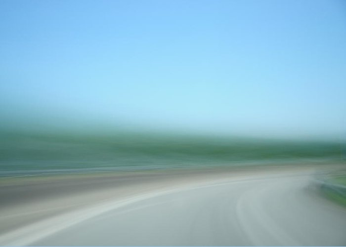 Motion Greeting Card featuring the photograph Highway To Heaven by Hans Kool