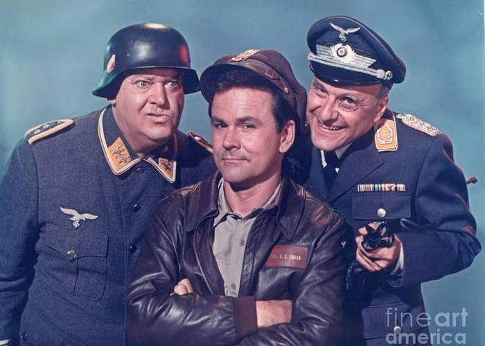 Hogan's Heroes Greeting Card featuring the photograph Hogan's Heroes by Pd