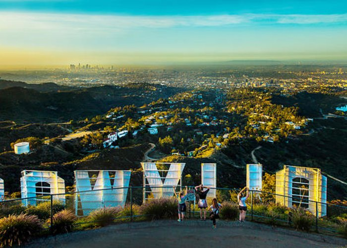 Los Angeles Greeting Card featuring the photograph Hollywood Dreaming by Az Jackson