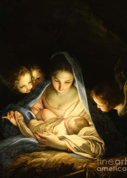 Holy Night Greeting Cards