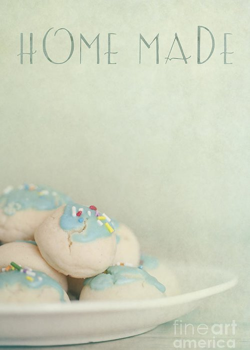 Cookies Greeting Card featuring the photograph Home Made Cookies by Priska Wettstein