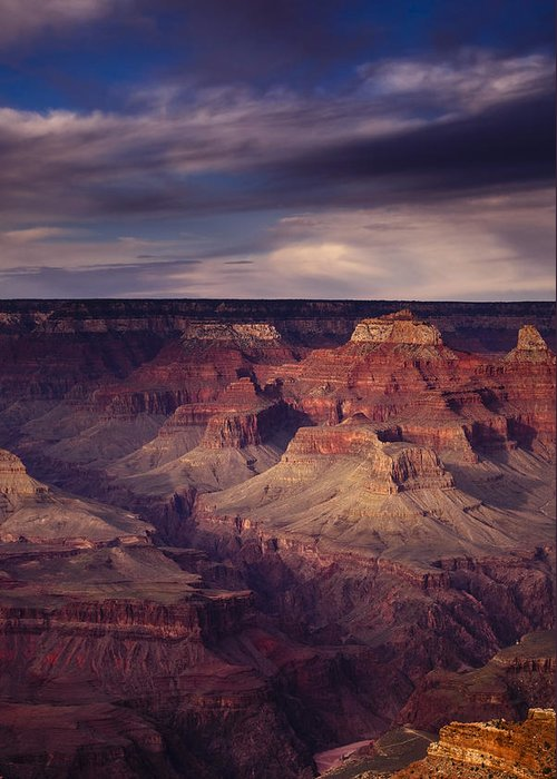 National Park Greeting Card featuring the photograph Hopi Point - Grand Canyon by Andrew Soundarajan