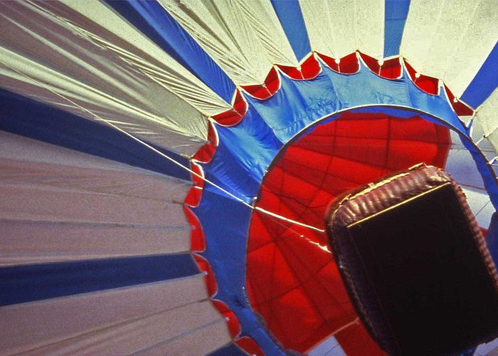 Tennessee Greeting Card featuring the photograph Hot Air Balloon - 1 by Randy Muir