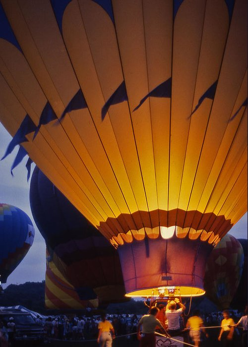 Hot Air Balloon Greeting Card featuring the photograph Hot Air Balloon - 10 by Randy Muir