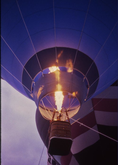 Tennessee Greeting Card featuring the photograph Hot Air Balloon - 2 by Randy Muir