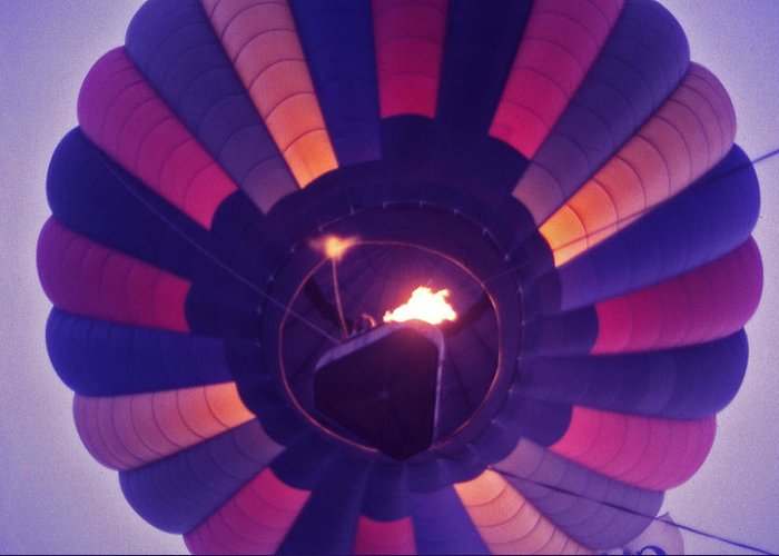 Hot Air Balloon Greeting Card featuring the photograph Hot Air Balloon - 7 by Randy Muir