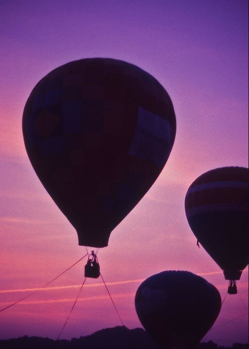 Hot Air Balloon Greeting Card featuring the photograph Hot Air Balloon - 8 by Randy Muir