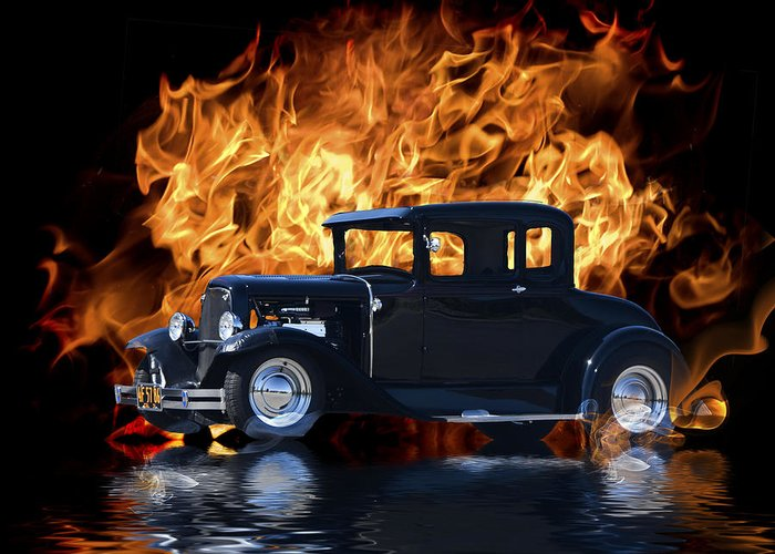 Ford Coupe Greeting Cards