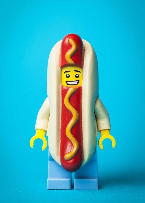 Hotdogs Greeting Cards