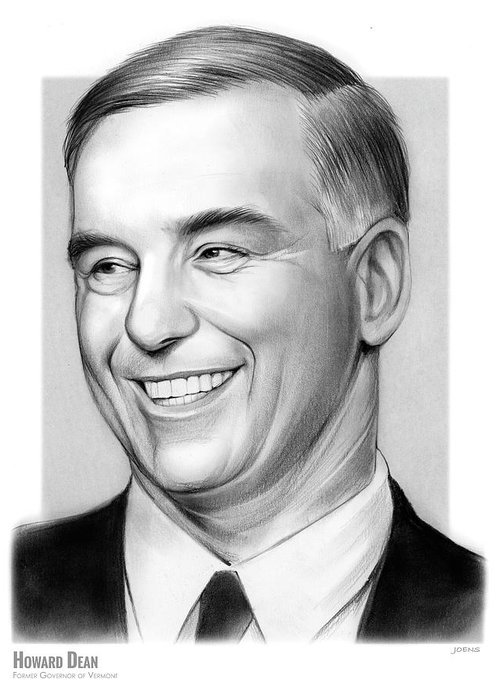 Howard Dean Greeting Cards