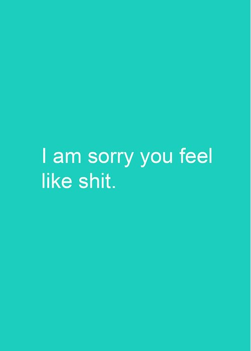 I Am Sorry Greeting Cards
