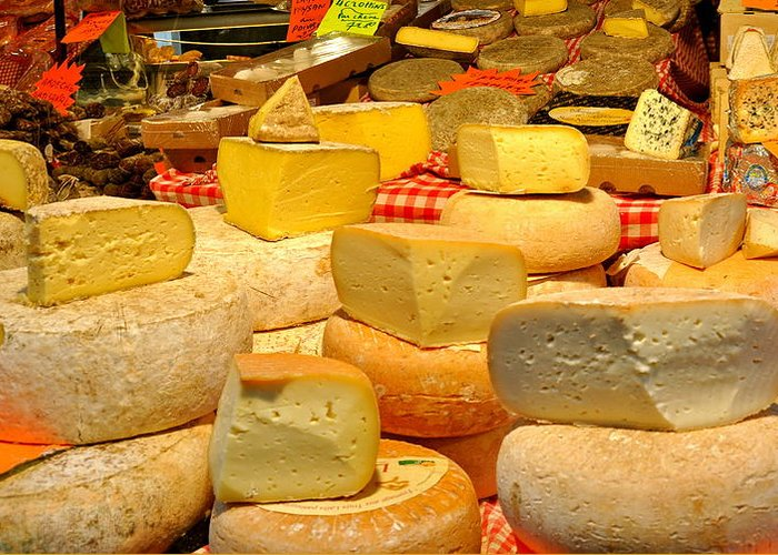 Cheese Greeting Card featuring the photograph I Love Cheese by Caroline Reyes-Loughrey