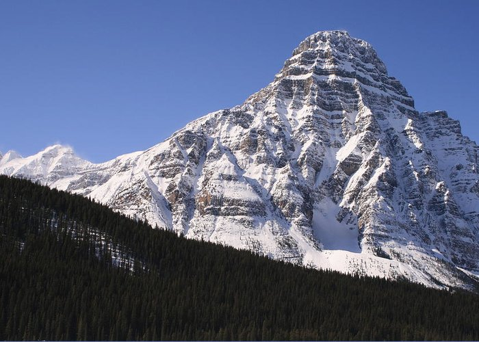 Rocky Mountains Greeting Card featuring the photograph I Love The Mountains Of Banff National Park by Tiffany Vest