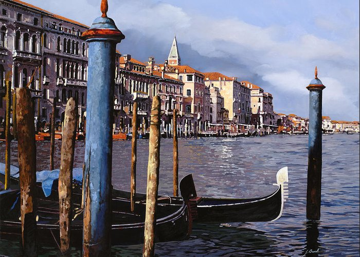 Canal Grande Greeting Cards
