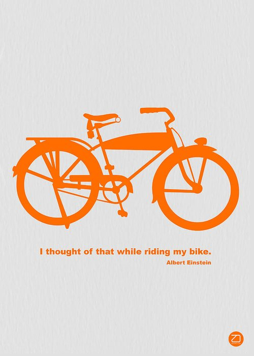 Bicyclists Greeting Cards
