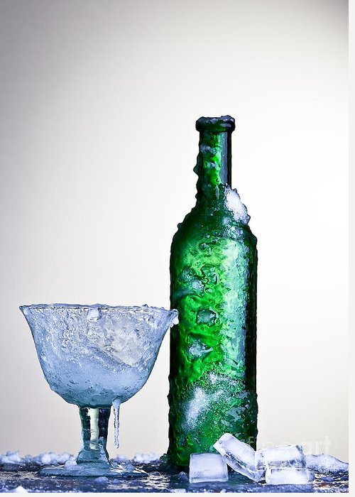 Alcohol Greeting Card featuring the photograph Ice Cold Drink by Dirk Ercken