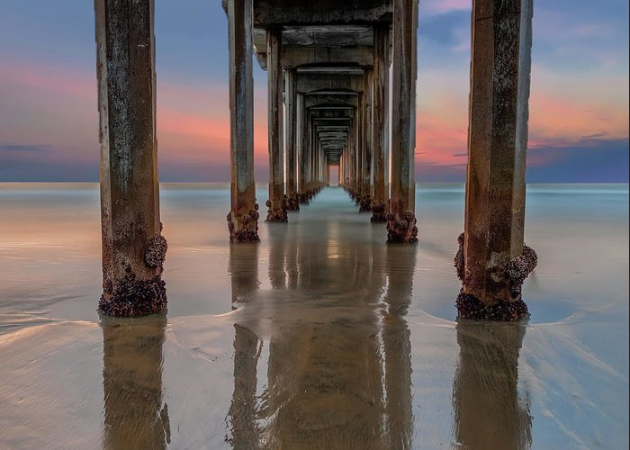 Scripps Pier Photographs Greeting Cards