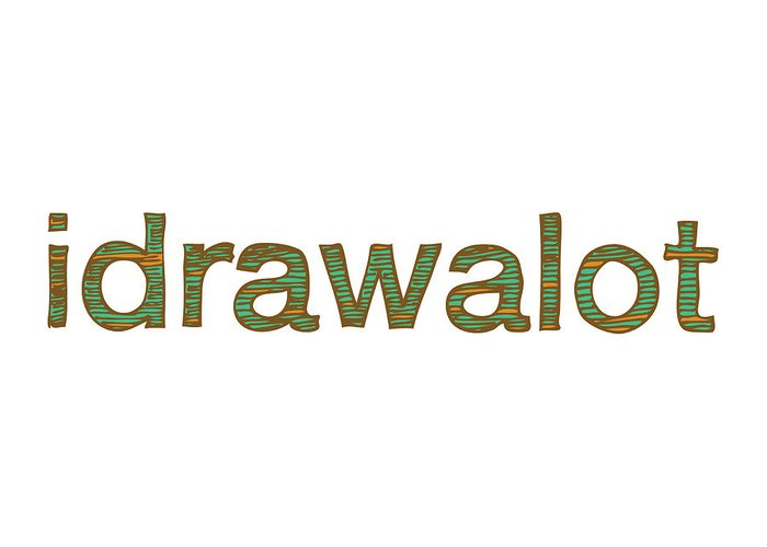 Drawing Greeting Card featuring the drawing Idrawalot by Karl Addison