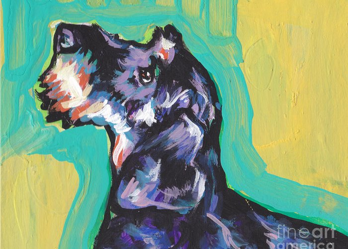 Wire-haired Dachshund Greeting Cards | Fine Art America