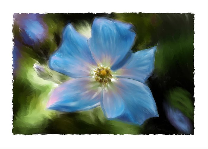 Flower Greeting Card featuring the photograph Impatient by Sandy Belk