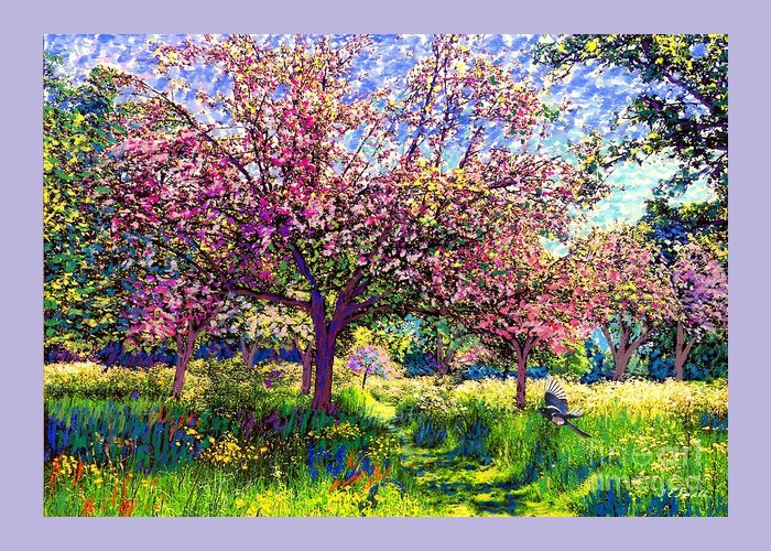 Wild Orchards Greeting Cards