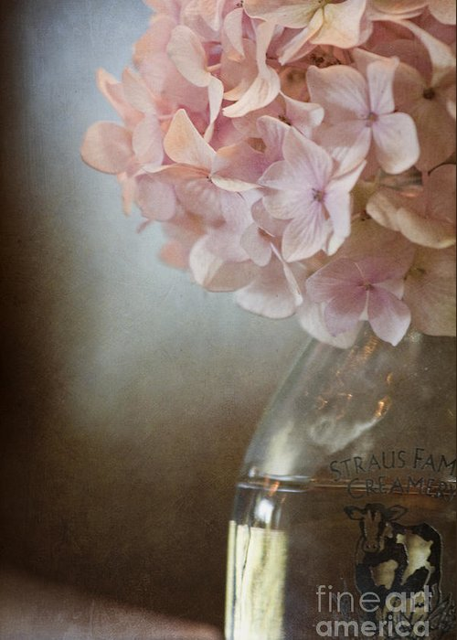 Pink Greeting Card featuring the photograph In The Country by Margie Hurwich