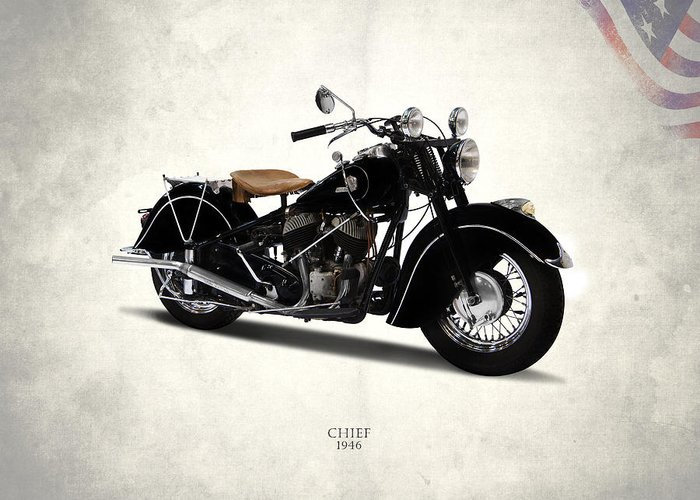 Motorcycle Photographs Greeting Cards
