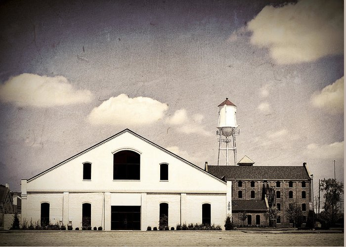 Indiana Greeting Card featuring the photograph Indiana Warehouse by Amber Flowers