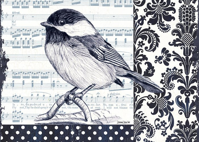 Bird Singing Greeting Cards