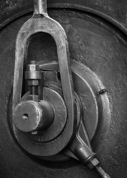Abandoned Greeting Card featuring the photograph Industrial Detail by Carlos Caetano