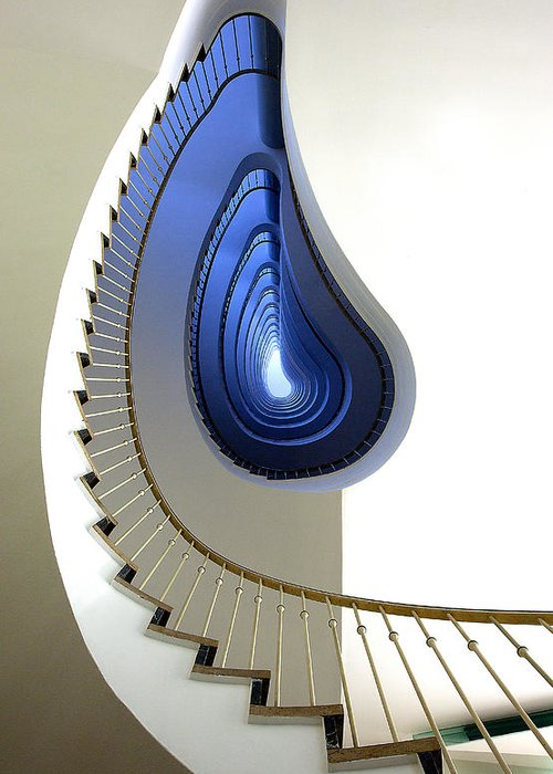 Stairs Greeting Cards