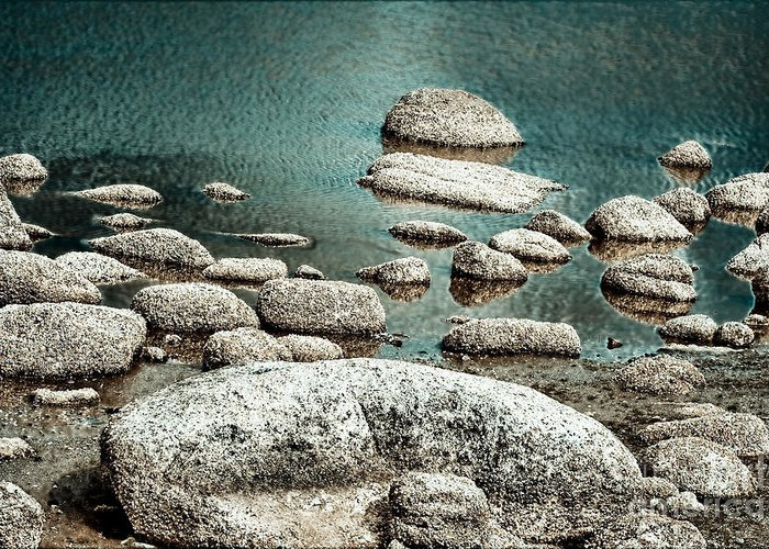 Rocks Greeting Card featuring the photograph Intrusion by Gabriela Insuratelu