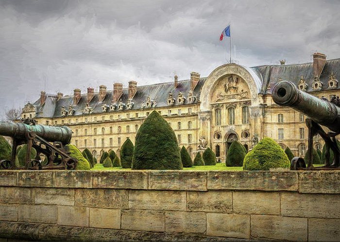 Les Invalides Greeting Cards