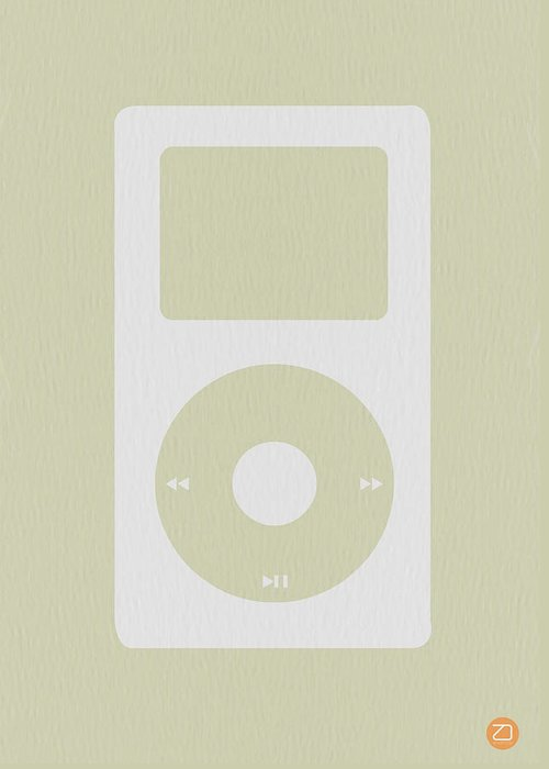 Music Ipod Greeting Cards