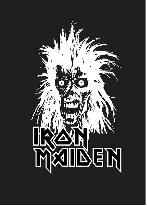 Iron Maiden Greeting Cards