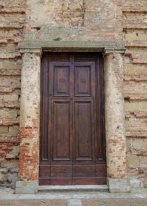 Europe Greeting Card featuring the photograph Italy - Door Nineteen by Jim Benest