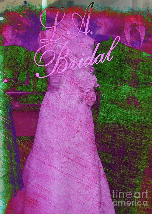 Wedding Greeting Card featuring the photograph Its A Choice You Make by Susanne Van Hulst