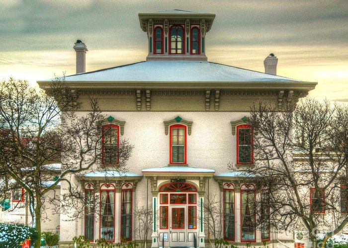 Old House Greeting Card featuring the photograph Its History-2 by Robert Pearson