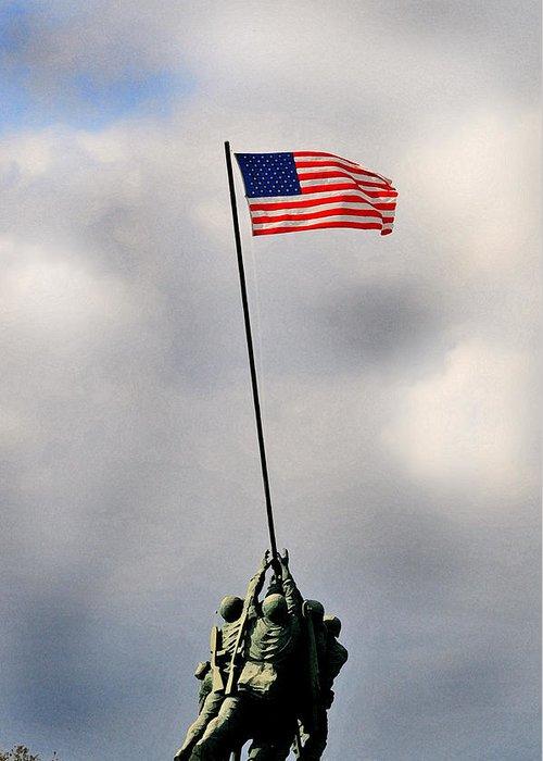 Huisken Greeting Card featuring the photograph Iwo Jima by Lyle Huisken