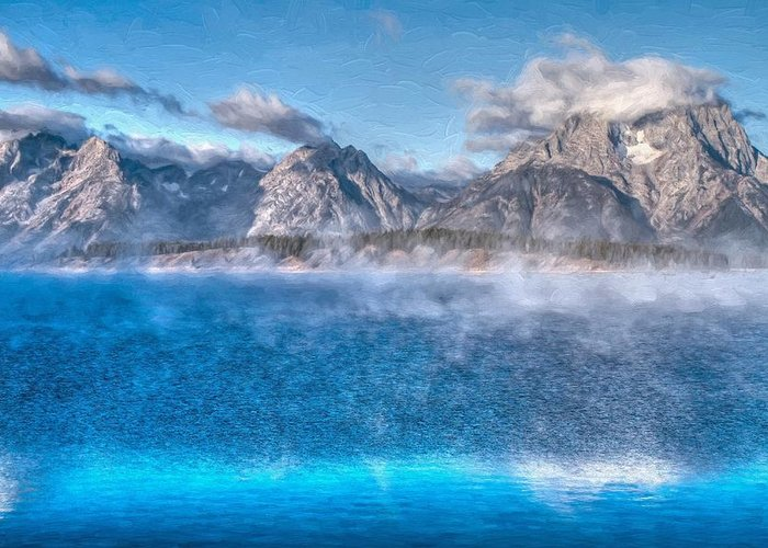 Jackson Lake Greeting Card featuring the photograph Jackson Lake - Teton National Park by Donna Kennedy
