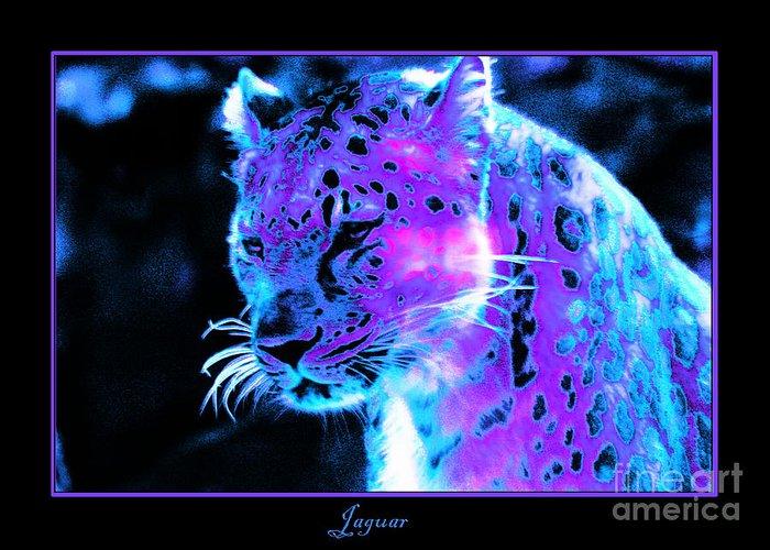 Jaguar Greeting Card featuring the photograph Jaguar by Nick Gustafson