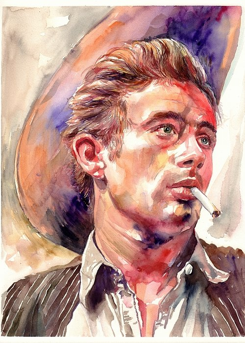 James Dean Greeting Cards