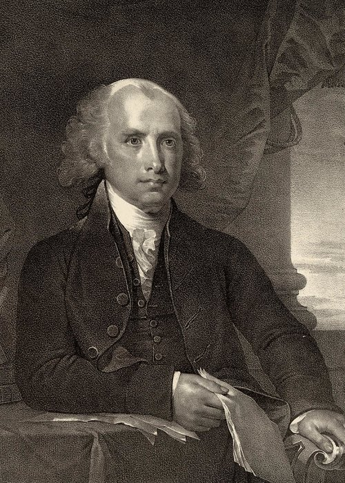 president James Madison Greeting Card featuring the photograph James Madison - Fourth President Of The United States Of America by International Images