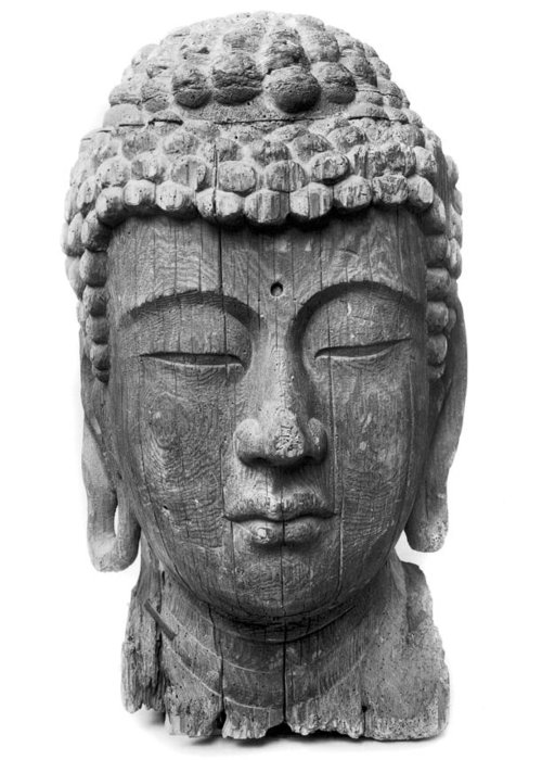 12th Century Greeting Card featuring the photograph Japan: Buddha by Granger