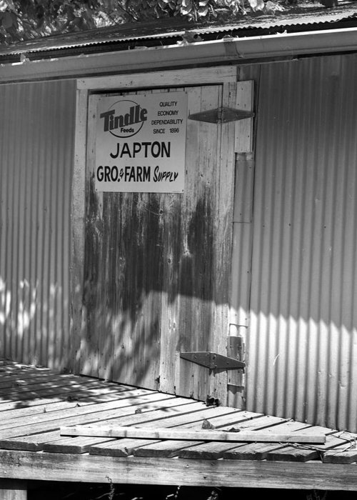 Greeting Card featuring the photograph Japton2 by Curtis J Neeley Jr