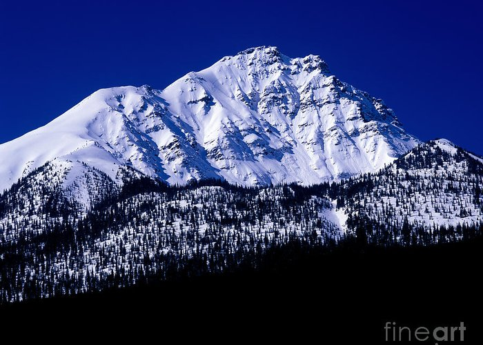 Terry Elniski Photography Greeting Card featuring the photograph Jasper - Rocky Mountain Scenic by Terry Elniski
