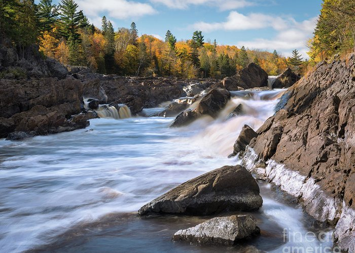 Carlton Greeting Card featuring the photograph Jay Cooke Autumn Colors by Ernesto Ruiz